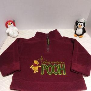 Disney adventure Pooh fleece